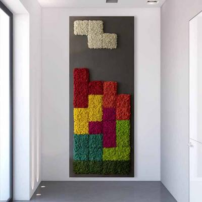 Tetris 250 x 110cm, Islandmoos