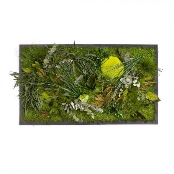"""Moosbild """"Dschungel"""" - 100 x 60 cm"""