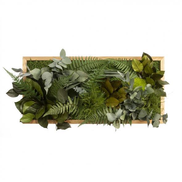 """Moosbild """"Dschungel"""" - 57 x 27 cm"""